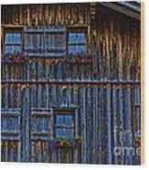 Wonderland-3 Wood Print