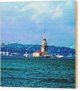 Wonders Of Istanbul Wood Print