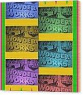 Wonderworks  Wood Print