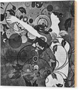 Wondrous Bw Wood Print