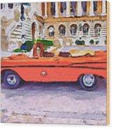 Wonna Ride This Car Wood Print by Yury Malkov