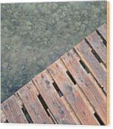 Wood And Sea Wood Print