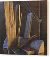 Wood Box Wood Print by Timothy Jones