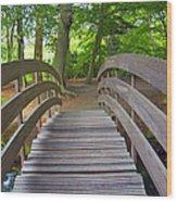 Wood Bridge Wood Print