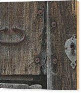 Wood Door Wood Print