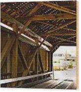 Wood Fame Bridge Wood Print