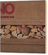 Wood-fired Wood Print