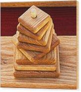 Wood Puzzle Wood Print
