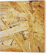 Wood Splinters Background Wood Print