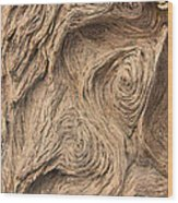 Wood Swirls Wood Print