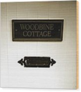 Woodbine Cottage - In Bakewell Town Peak District - England Wood Print