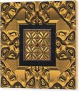 Woodblocks Three  Wood Print