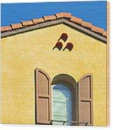 Woodbury Windows No 1 Wood Print
