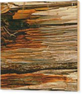 Wooden Abstract Wood Print