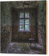 Wooden Chair Room Wood Print