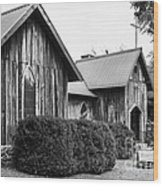 Wooden Country Church 2 Wood Print