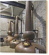 Woodford Reserve Copper Spirit Stills - D008775a Wood Print