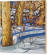 Woodland Graphic Wood Print