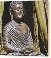 Woodland Meditation Wood Print
