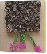 Woodpile Plus Wood Print