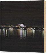 Woodrow Wilson Bridge - Washington Dc - 011343 Wood Print