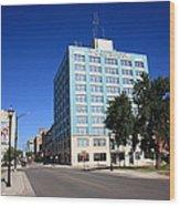 Springfield Missouri - Woodruff Building Wood Print