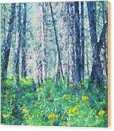 Woods 1 Wood Print