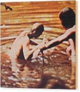 Woodstock Cover 2 Wood Print
