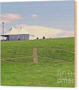 Woodstock Hill Of Peace Wood Print
