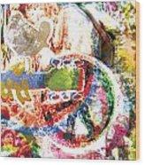 Woodstock Original Painting Print  Wood Print