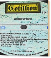 Woodstock Side 4 Wood Print