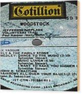 Woodstock Side 5 Wood Print