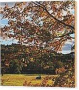 Woodstock Vermont Wood Print