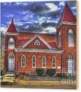 Woodville Baptist Church 2 Wood Print