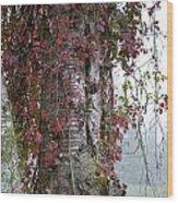 Woodvine Wood Print