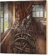 Woodworker - The Art Of Lathing Wood Print