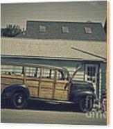 Woody Bus Wood Print