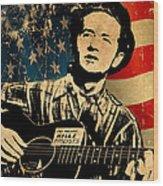Woody Guthrie 1 Wood Print