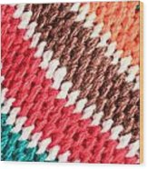 Wool Knitwear Wood Print by Tom Gowanlock