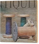 Woolrich Woolen Mill Spools Wood Print