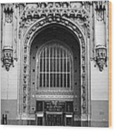 Woolworth Building Entrance Wood Print