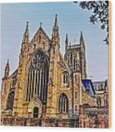 Worcester Cathedral Wood Print