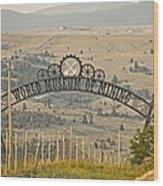 World Museum Mining Wood Print