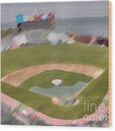 World Series Batting Practice - Att Park Wood Print