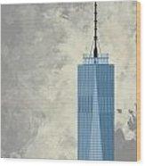 World Trade Center One Wood Print