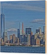 World Trade Center Painting Wood Print by Dan Sproul