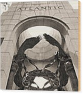 World War 2 Atlantic Memorial Wood Print