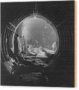 World War 2, Battle Of Britain. Subway Wood Print