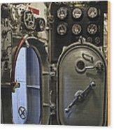 World War 2 Era Submarine Hatch - Pearl Harbor Wood Print