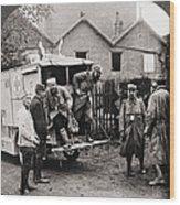 World War I: Ambulance Wood Print